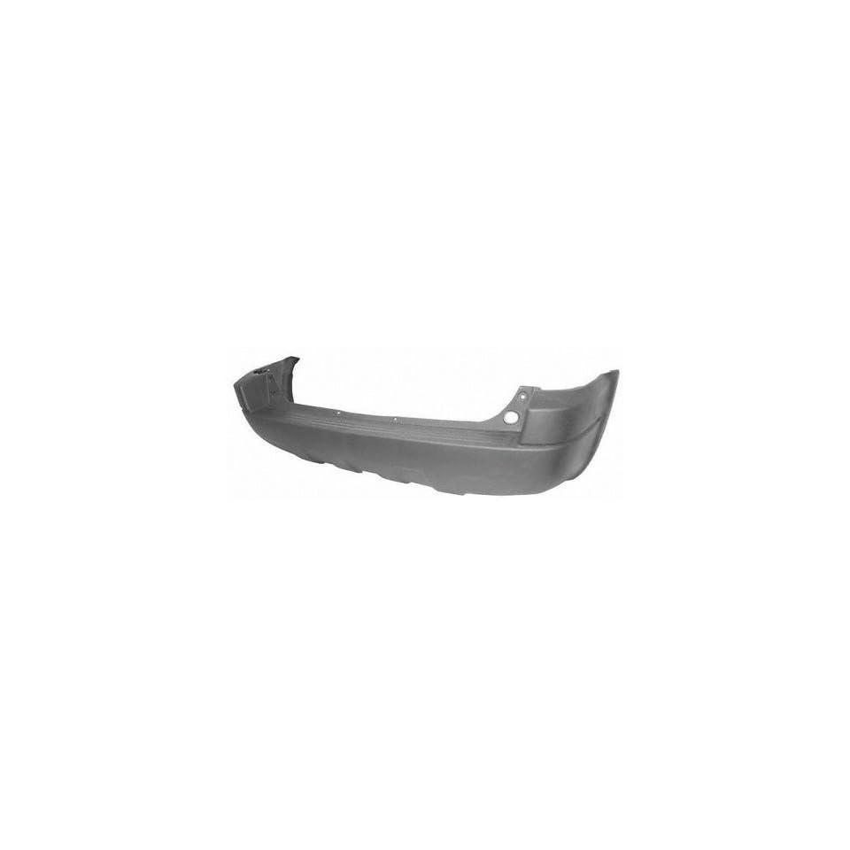 01 04 FORD ESCAPE REAR BUMPER COVER SUV, Platinum/Mat Dark Gray, XLS Model, w/o Wheel Opening Mldg., Roof Rack (2001 01 2002 02 2003 03 2004 04) F760105 YL8Z17B807EAB