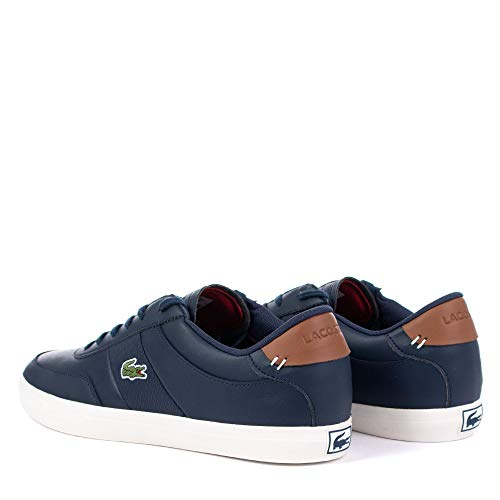 Uomo Uomo brown Navy Uomo Lacoste Sneaker Sneaker Lacoste brown Navy brown Sneaker Lacoste Navy PwqUfEw