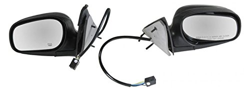 Power Heated Side View Mirrors Pair Set for Crown Victoria Grand Marquis