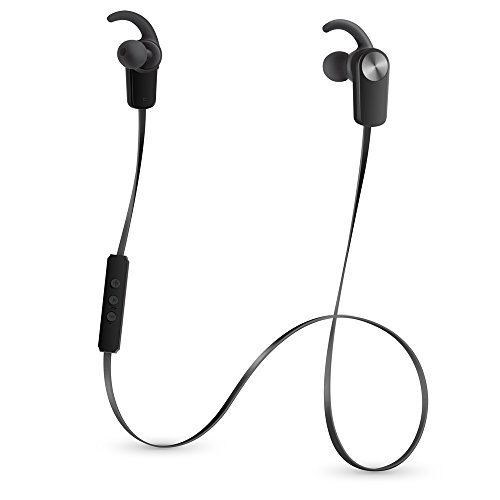 sweat proof wireless bluetooth 4 1 stereo earbuds by photive and iphone 7 by apple compatibility. Black Bedroom Furniture Sets. Home Design Ideas