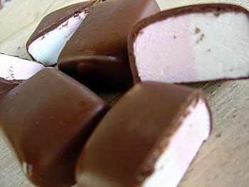 La Nouba Marshmallows Sugar/gluten Free Sugarfree Chocolate Covered Marshmallow 2.1 Oz (Pack of 6) by La Nouba