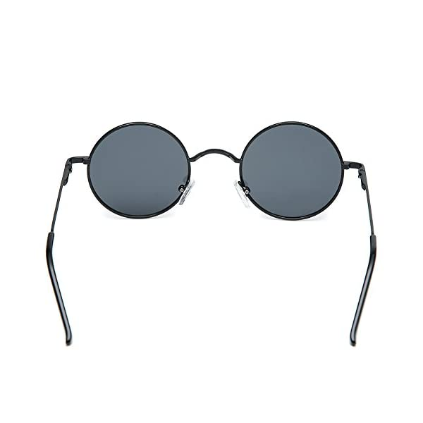 Joopin Polarized Lennon Round Sunglasses Women Men Circle Hippie Sun Glasses 5