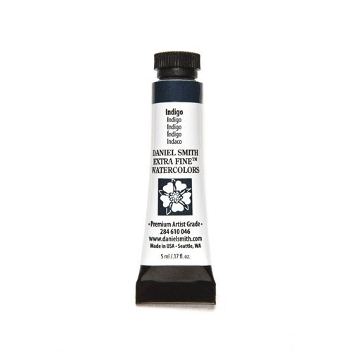Price comparison product image Daniel Smith Watercolour 5 ml Tube (S1) - Indigo (046) by Daniel Smith