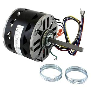 1/2 hp 1075 RPM 3-Speed 48 Frame 115V Direct Drive Furnace Motor Century # DL1056