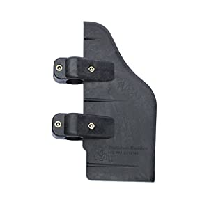 Bullnose Rudder Brace On Rudder Kit for 24-55 Thrust Trolling Motors: Accessory for Pedal Boats, Pontoons, Kayaks, or Canoes