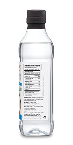 Nutiva Organic, Unrefined, Liquid Coconut Oil from Fresh, non-GMO, Sustainably Farmed Coconuts, 16-ounce by Nutiva (Image #7)