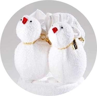 JACK Frottier Geschenk Set viele Modelle Handarbeit Origami G/ästetuch Handtuch Waschhandschuh Motiv//Art:Biene