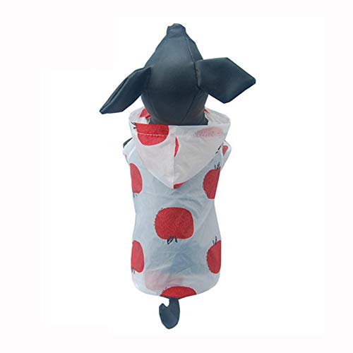 Hpapadks Dog Clothes, Fruit, Sun Protection Clothing,Cute Pet Puppy Dog Clothes Breathable Pet Sunscreen T-Shirt Coat - Greendog Puppy Clothes