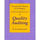 img - for Transparency Masters to Accompany Fundamentals of Quality Auditing: Fundamentals of Quality Auditing book / textbook / text book