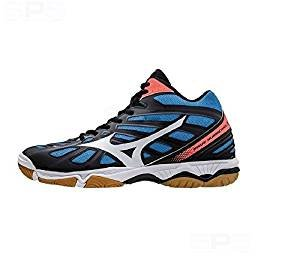 Mizuno Wave Hurricane 3Mid–Chaussures Homme–Men's Volleyball Volleyball Shoes–v1ga175401