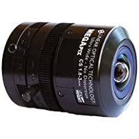 Everfocus EFV-M1803DCIR A/I Lens with Optical Correction, 1.8-3 mm, 1/2 Megapixel