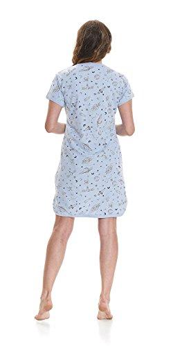 Donna Blu notte da Indumenti nightwear dn nwqUYRFX