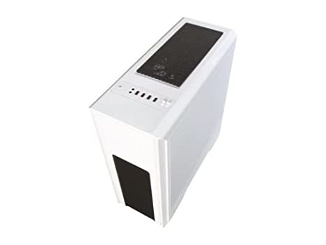 DIYPC D480-W White Dual USB 3.0 ATX Mid Tower Gaming Computer Case with Build-in