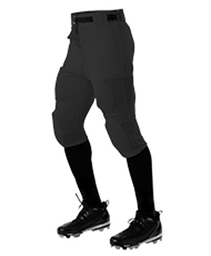 Alleson Athletic ADULT PRACTICE FOOTBALL PANT BLACK M 610SL (Alleson Football Pants)