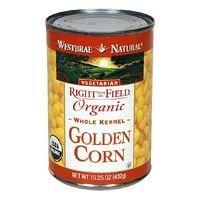 Westbrae Foods Golden Corn Canned Vegetable 15.25 Oz (Pack of 12)