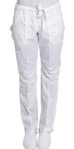 Hey Medical Uniforms Hey Women's Low Rise 6 Pocket Baby Twill Scrub Pants 1X - Uniforms Hey