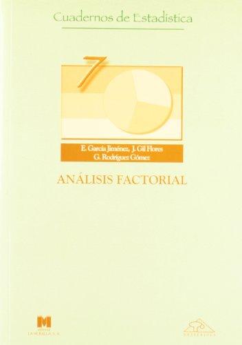 Descargar Libro Análisis Factorial Eduardo García Jiménez