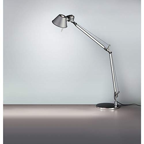 Artemide Tolomeo Table Lamp | with Base - Classic - Aluminum