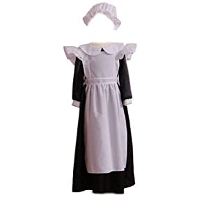 Girls Kids Childrens Deluxe Historical Victorian Maid Fancy Dress Costume 3-5 Years by Dress Up By Design