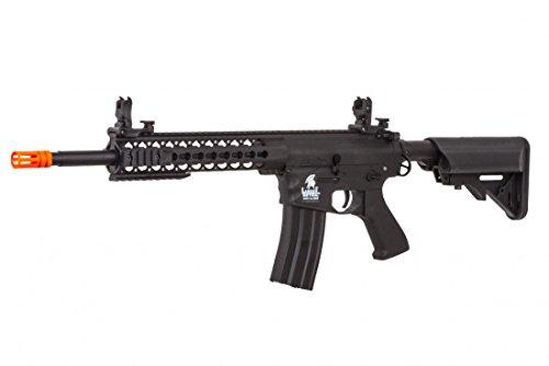 Lancer Tactical LT-12BK-G2 Gen 2 M4 Carbine AEG Airsoft Gun (Black)