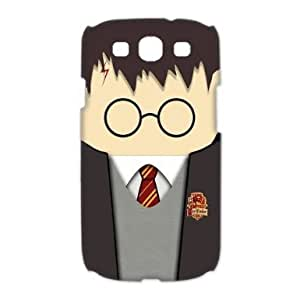 RebeccaMEI Custom Your Own Cute Kawaii Harry Potter Face SamSung Galaxy S3 I9300 Case 3D , Special designer Harry Potter Galaxy S3 Case 3D