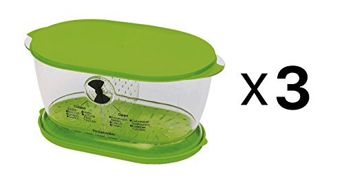Prepworks from Progressive LKS-06 Lettuce Keeper(3 Pack) ()