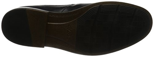 Becken Plain Black Leather