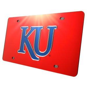University of S01900 Acrylic Classic License Plates WinCraft Kansas