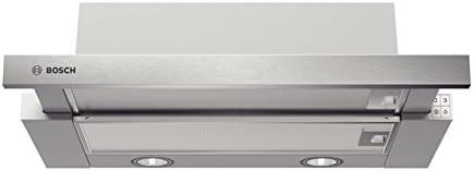 Bosch DHI625T - Campana (Canalizado/Recirculación, 350 m³/h, 160 m³/h, Built-under, 85 Lux, Acero inoxidable): Amazon.es: Hogar