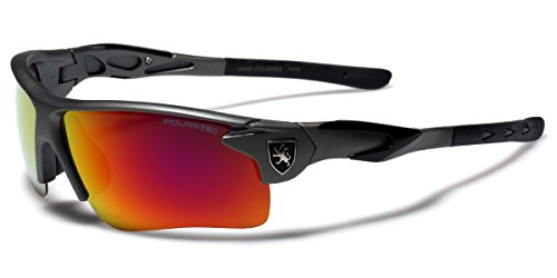 Polarized Men's Sport Cycling Fishing Baseball Water Sports Sunglasses with Color Mirror - Glasses Polaroid Price