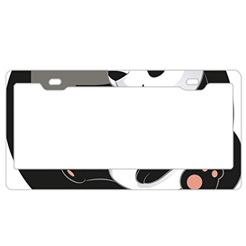 Teisyouhu ABC Cartoon Panda Decorative License Plate for sale  Delivered anywhere in USA