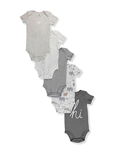 Carter's Baby 5-Pack Original Bodysuits 12 Months