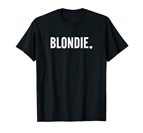 Womens Blondie T-Shirt, Blondie and Brownie BFF Shirts