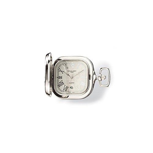 Charles-Hubert, Paris Two-Tone Quartz Pocket Watch from Charles-Hubert, Paris