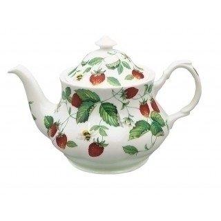 Roy Kirkham Alpine Strawberry Large round Tea pot