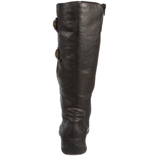 Rieker 79970 Women's Knee High Boot Black (Black) yHCUmNd