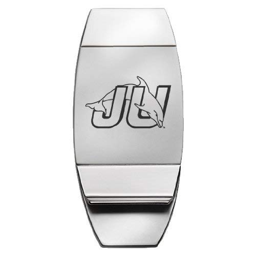 Jacksonville University Two-Toned Money Clip Silver