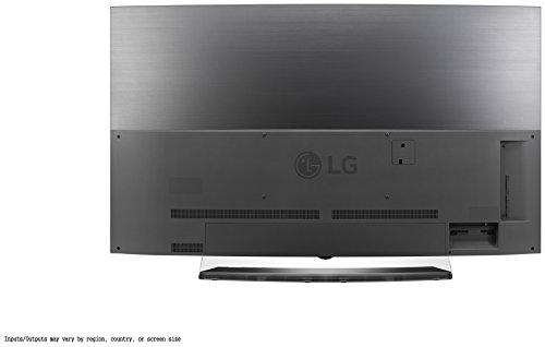 lg electronics oled55c6p curved 55 inch 4k ultra hd smart oled tv 2016 model desertcart. Black Bedroom Furniture Sets. Home Design Ideas