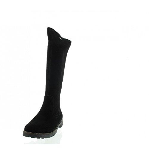 femme taille grande matelas REMONTE chaussures bottes noir en Cxf6Kw5cU
