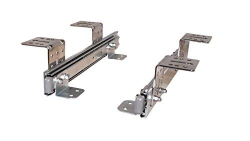 EisenRon Auszugschienen für Tastaturauszug Untertischmontage 30cm x 4,7cm