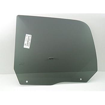NAGD Compatible with 2009-2010 Dodge 1500 2011-2018 Ram 1500 2019 Ram 1500 Classic 4 Door Quad Cab Driver Side Left Rear Door Window Glass