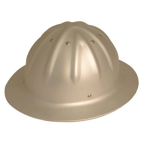 WoodlandPRO Full Brim Aluminum Hard Hat - Traditional Unpainted