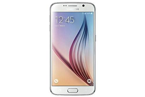 (Samsung Galaxy S6 G920a 32GB Unlocked GSM 4G LTE Octa-Core Android Smartphone w/ 16MP Camera (Certified Refurbished) (White Pearl))