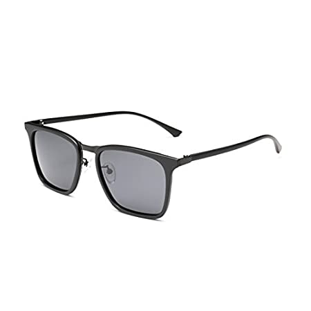 Riaxa Square TR90 Sunglasses Men Flexible Polarized Sun Glasses for Men Ultra Light 16g Male Driving Eyewear Lunettes