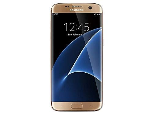 Samsung Galaxy S7 Edge SM-G935A 32GB Gold Smartphone for AT&T (Renewed)