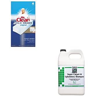 KITFKLF538022PAG82027 - Value Kit - Franklin Super Carpet amp;amp; Upholstery Shampoo (FKLF538022) and Mr. Clean Magic Eraser Foam Pad (PAG82027)