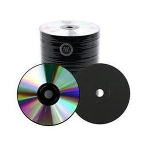 200 Spin-X 48X Black Color CD-R 80min 700MB Shiny Silver by SpinX