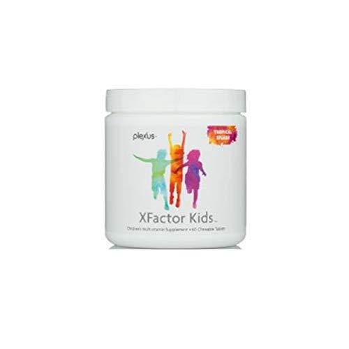 - Plexus Xfactor Kids (60 chewables) |Best multivitamin and probiotic for Children| with Bonus Notebook