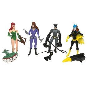 Batman - The Girls of Gotham City Set - Batgirl, Talia, Catwoman, Poison Ivy -