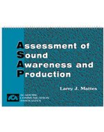 Assessment of Sound Awareness and Production: Assessment Tools for Articulation, Phonemic Awareness, and Speech Intelligibility by Academic Communication Associates